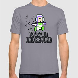 To 16Bit and Beyond T-shirt