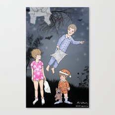 Insomniacs - Once upon a time out Canvas Print