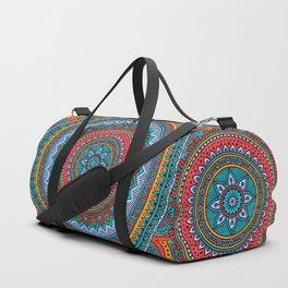 Hippie mandala 32 Duffle Bag