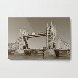 Bridge design 2 Metal Print