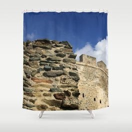 Thessaloniki IV Shower Curtain