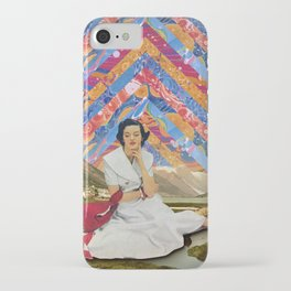 Psychedelic sky iPhone Case