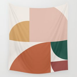 Abstract Geometric 10 Wall Tapestry
