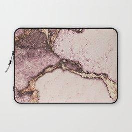 GEMSTONE AND GOLD BLUSH ROSE Laptop Sleeve