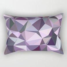 Happy purple triangles Rectangular Pillow