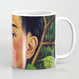 Frida Kahlo Green Forest Coffee Mug