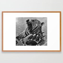 Bear Art Framed Art Print