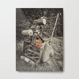 Vintage Mower  Metal Print