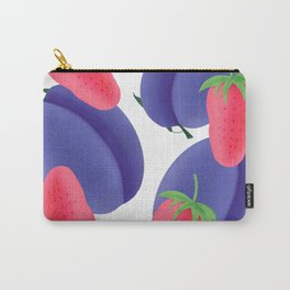 Plums and strawberry Carry-All Pouch