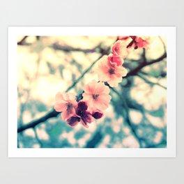 lovely spring memories Art Print