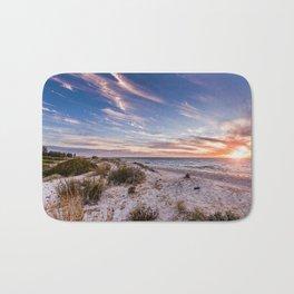 Semaphore Beach Sunset Bath Mat
