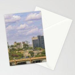 Cityscape of Recife, Pernambuco Brazil Stationery Cards
