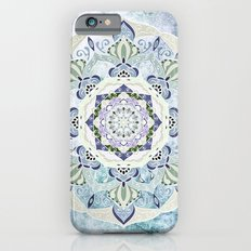 BLUE YERA MANDALA iPhone 6s Slim Case