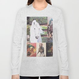 """Horse Collage II"" Long Sleeve T-shirt"