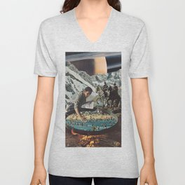 New World Unisex V-Neck