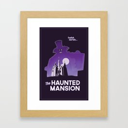 Hatbox Ghost - World Framed Art Print