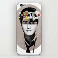godfather iPhone & iPod Skins featuring Godfather Mix 2 white by Marko Köppe