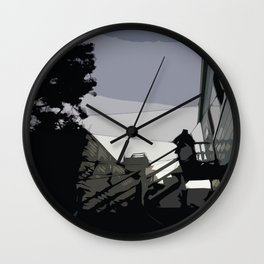 Quite Moment, San Francisco  Wall Clock