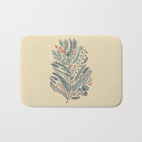 Turning Over A New Leaf Bath Mat