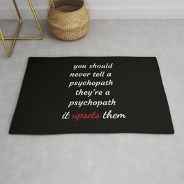 Killing Eve - Sorry Baby -quote-Villanelle Rug