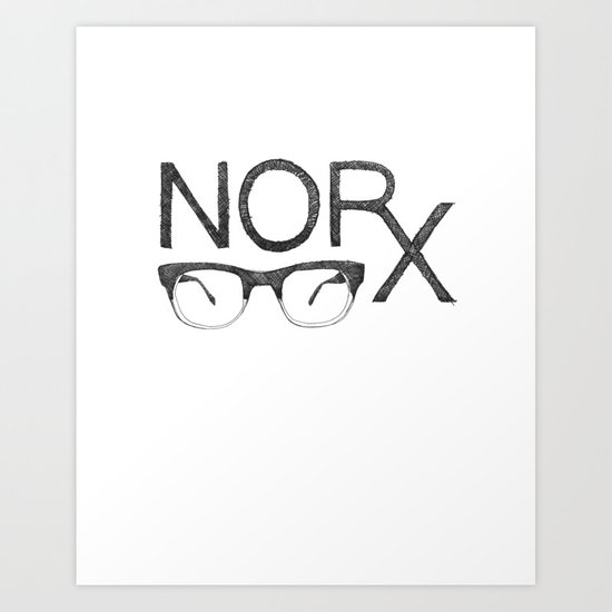 NORx Art Print