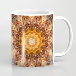 Orange Fire Mandala art - solar plexus chakra Coffee Mug
