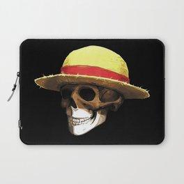 Straw Hat Zombie Laptop Sleeve