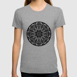 Polish Papercut Dancers Black T-shirt