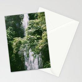 Waterfall in Hana Maui Stationery Cards