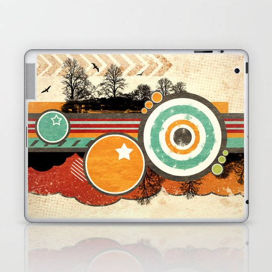 Retro Mash Up. Laptop & iPad Skin