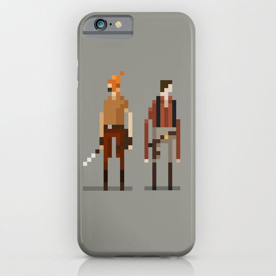 Brains and Brawn iPhone & iPod Case