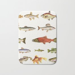 Fishing Line Bath Mat