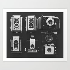 The Vintage Family Art Print