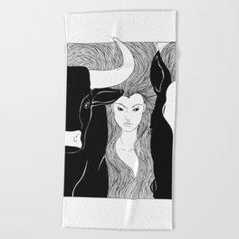 Tauromaquia Beach Towel