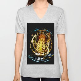Industrial Filament Light Unisex V-Neck