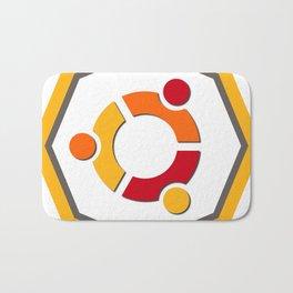 ubuntu apache linux operating  system  stickers Bath Mat