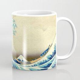 The Great Wave Off Kanagawa Katsushika Hokusai Coffee Mug