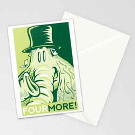 FOUR MORE! Stationery Cards