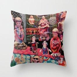 Beads of Paradise Shop NYC Throw Pillow