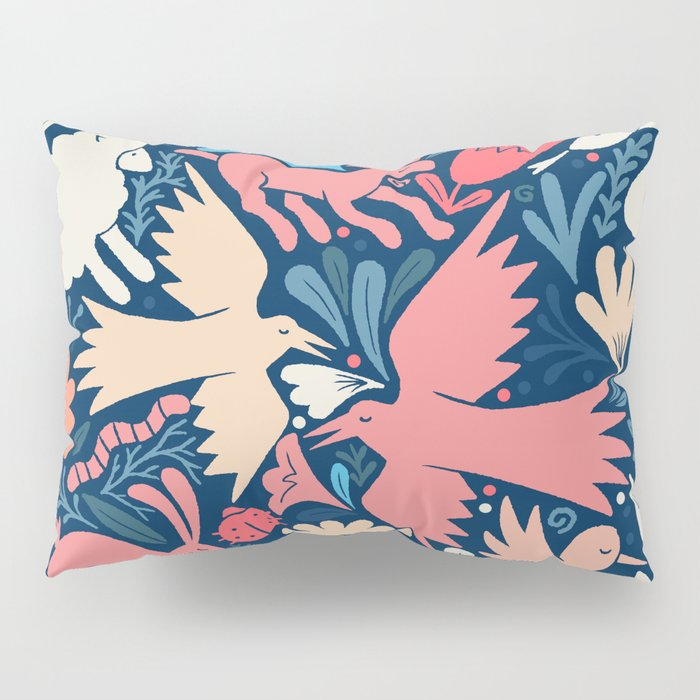 Nursery rhyme garden 002 Pillow Sham