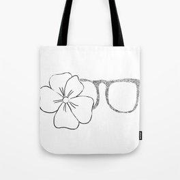 I see flowers Tote Bag