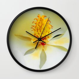 Heart of the Magnificent Magnolia Wall Clock