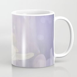 White Flower In The Forest Enchantments - Bokeh Background #decor #buyart #society6 Coffee Mug