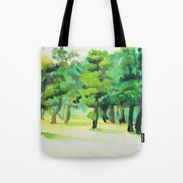 Green Tree Tote Bag