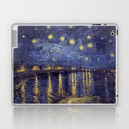 Vincent Van Gogh Starry Night Over The Rhone Laptop & iPad Skin