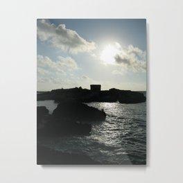 Island Ruin Metal Print