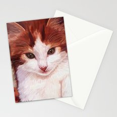 Copper kitten Stationery Cards