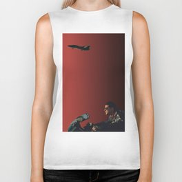 002. The Danger Zone Biker Tank