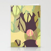 jungle Stationery Cards featuring Jungle by VessDSign