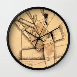 Juan Gris - Digital Remastered Edition - The Smoker Wall Clock